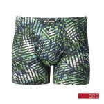 Set heren boxershort 'Palm' groen
