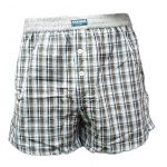 Eskimo heren boxershort 'Ruit' Blue Checks