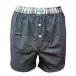 Eskimo heren boxershort 'Ruit' Dark & White Checks