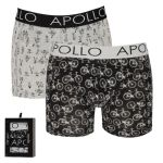 Apollo Deluxe heren boxershorts 'Bicycle' 2-pack