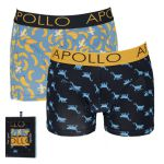Apollo Deluxe heren boxershorts 'Monkey' 2-pack