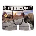 Freegun heren boxershort microvezel 'Bison way'