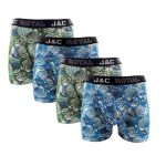 J&C Underwear heren boxershorts promopakket 'Circle dots' 4-pack