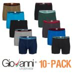 Giovanni heren boxershort 10-pack 'Colours M29'