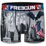 Freegun heren boxershort microvezel 'New York eagle'