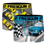 Freegun heren boxershorts microvezel Duo 'Car/taxi'