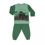 Fun2wear jongens pyjama 'Tractor power' groen