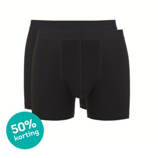 Ten Cate giftpack heren boxershorts 'Winter' zwart