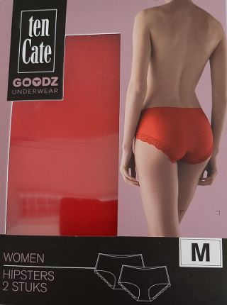 Ten Cate GOODZ dames hipsters 'Happy spring' zalmrood
