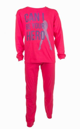 Fun2wear meisjes pyjama 'Hero' fuchsia